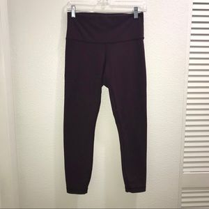lululemon athletica Pants - Lululemon High Times Pant Deep Zinfandel Purple